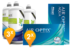 Air Optix Aqua + EyeDefinition Sensitive Plus