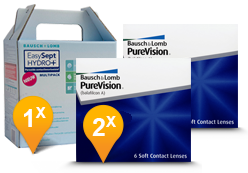 Purevision + Easysept Hydro Plus