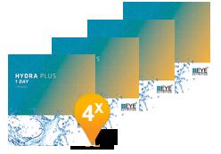 EyeDefinition Hydra Plus 1 Day - Confezione semestrale (360 lenti)