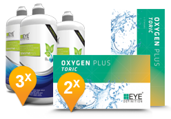 EyeDefinition Oxygen Plus Toric + Sensitive Plus