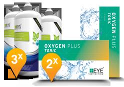 EyeDefinition Oxygen Plus Toric + Sensitive Plus