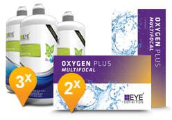 EyeDefinition Oxygen Plus Multifocal + Sensitive Plus
