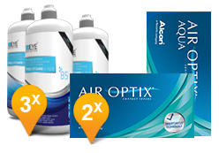 Air Optix Aqua + EyeDefinition Pro-Vitamin B5
