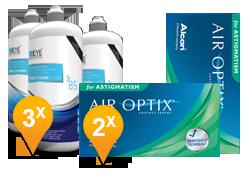 Air Optix for Astigmatism + EyeDefinition Pro-Vitamin B5