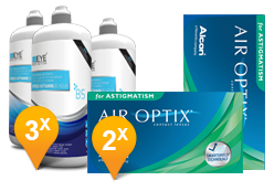 Air Optix for Astigmatism + EyeDefinition Pro-Vitamin B5