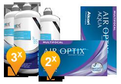 Air Optix Aqua Multifocal + EyeDefinition Pro-Vitamin B5