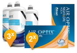 Air Optix Night & Day Aqua + EyeDefinition Pro-Vitamin B5