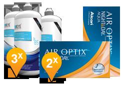 Air Optix Night & Day Aqua + EyeDefinition Pro-Vitamin B5