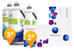 Biofinity XR + EyeDefinition Sensitive Plus