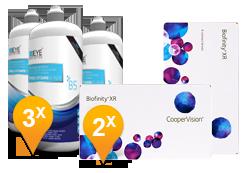 Biofinity XR + EyeDefinition Pro-Vitamin B5