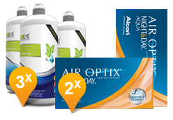 Air Optix Night & Day Aqua + EyeDefinition Sensitive Plus