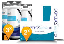 Biomedics Toric XR + EyeDefinition Pro-Vitamin B5