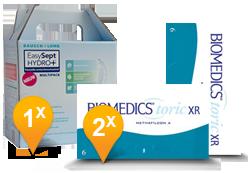 Biomedics Toric XR + Easysept Hydro Plus
