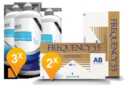 Frequency 55 Aspheric + Eyedefinition Pro-Vitamin B5