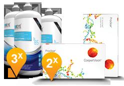 Proclear + EyeDefiniton Pro-Vitamin B5