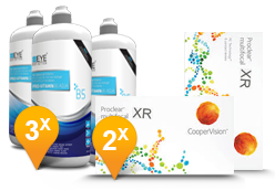Proclear Multifocal XR + EyeDefinition Pro-Vitamin B5