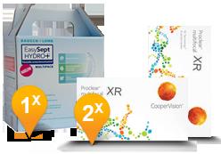 Proclear Multifocal XR + EasySept Hydro Plus