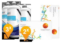 Proclear Multifocal Toric + EyeDefinition Pro-Vitamin B5