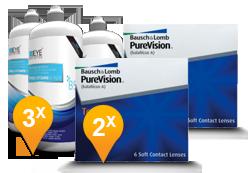 Purevision Toric + EyeDefinition Pro-Vitamin B5