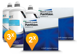 Purevision Toric + EyeDefinition Pro-Vitamin B5