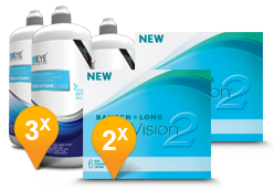 PureVision 2 HD + EyeDefinition Pro-Vitamin B5