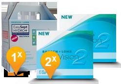 Purevision 2 HD + Easysept Hydro Plus