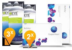 Biofinity + EyeDefinition Sensitive Plus