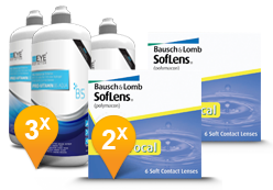 Soflens Multifocal + EyeDefinition Pro-Vitamin B5