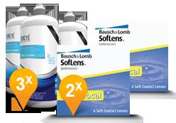Soflens Multifocal + EyeDefinition Pro-Vitamin B5