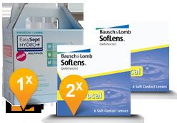 SofLens Multifocal + EasySept Hydro Plus