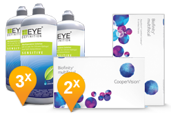 Biofinity Multifocal + EyeDefinition Sensitive Plus
