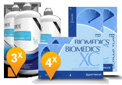 Biomedics XC + EyeDefinition Pro-Vitamin B5