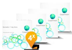 Biomedics 1 Day Extra - Confezione semestrale (360 lenti)