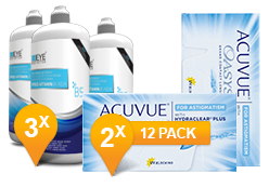 Acuvue Oasys for Astigmatism + EyeDefinition Pro-Vitamin B5