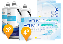 Acuvue Oasys for Presbyopia + EyeDefinition Pro-Vitamin B5