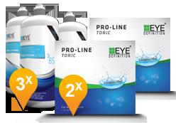 EyeDefinition Pro-Line Toric + Pro-Vitamin B5