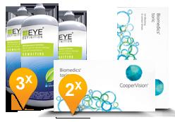 Biomedics Toric + EyeDefinition Sensitive Plus
