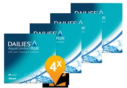Dailies AquaComfort Plus - Confezione semestrale (360 lenti)