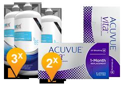 ACUVUE® VITA™ + EyeDefinition Pro-Vitamin B5