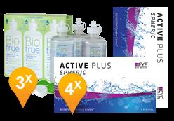 Active Plus +  BioTrue soluzione