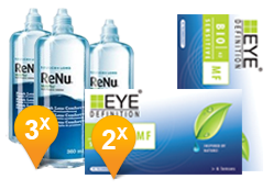 Bio Sensitive Multifocali +  ReNu MultiPlus