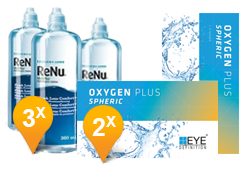 EyeDefinition Oxygen Plus + ReNu MultiPlus