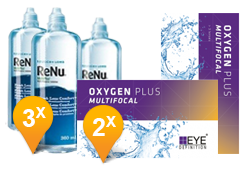 EyeDefinition Oxygen Plus Multifocal + ReNu MultiPlus