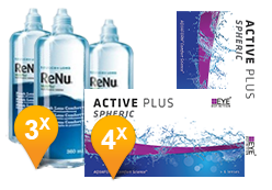 Active Plus +  ReNu MultiPlus