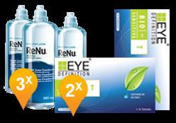Bio Sensitive Toriche + ReNu MultiPlus