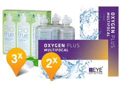 EyeDefinition Oxygen Plus Multifocal + BioTrue soluzione