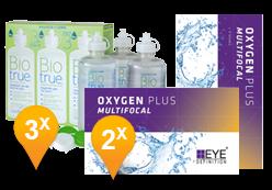 EyeDefinition Oxygen Plus Multifocal + BioTrue soluzione