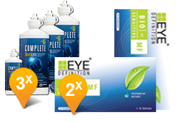 Bio Sensitive Multifocali +  Complete Revitalens