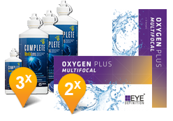 EyeDefinition Oxygen Plus Multifocal + Complete Revitalens