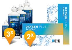 EyeDefinition Oxygen Plus + Complete Revitalens